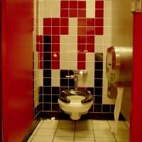 Дизайн интерьера уборной комнаты