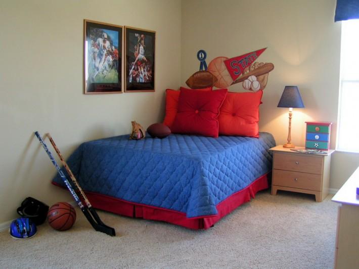 Дизайн интерьера детской спальни