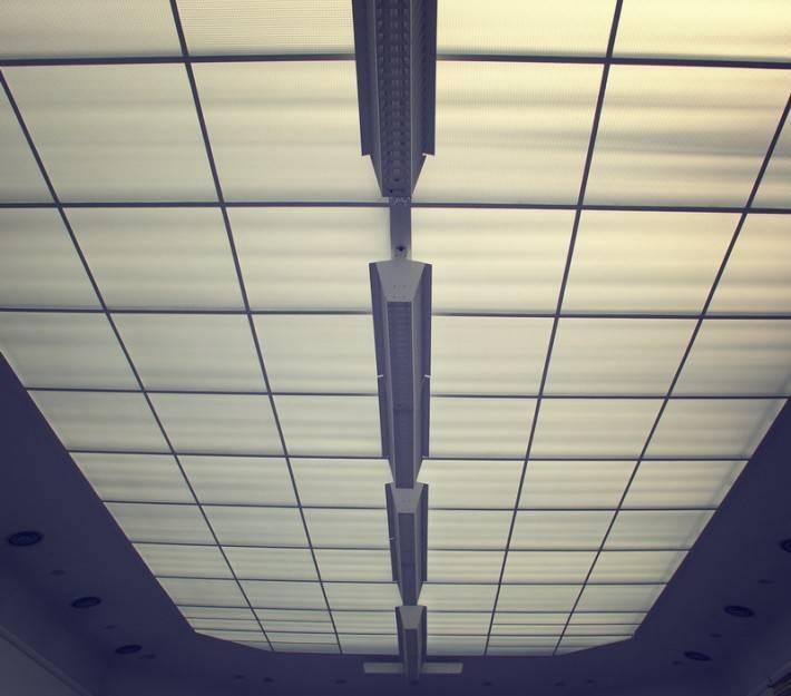 Потолок из стекловолокна