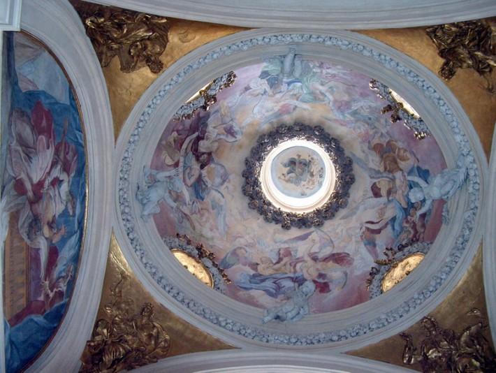 Роспись потолка — фото 152