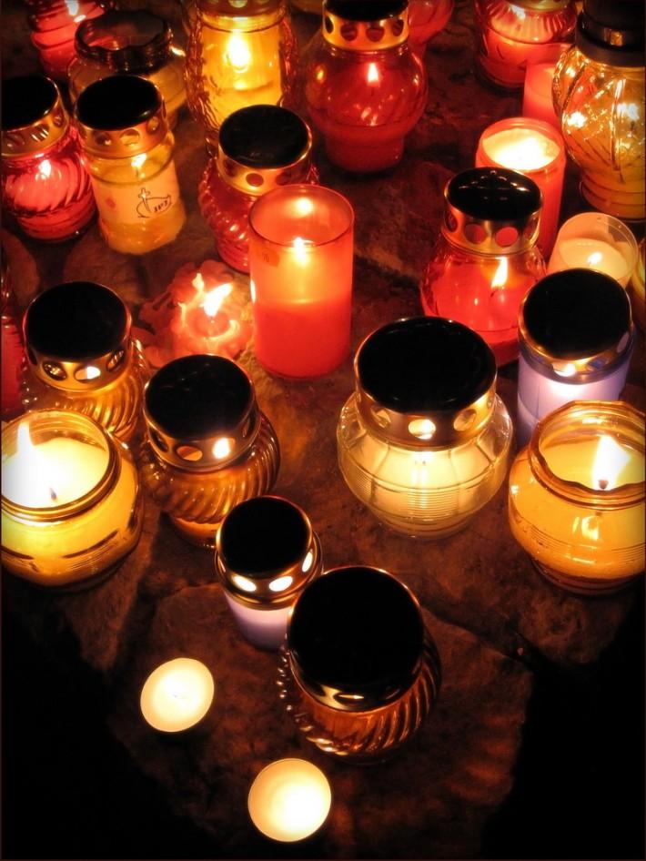 Свечи в дизайне интерьера