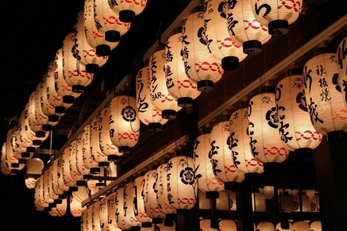 Японские светильники
