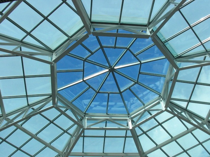Стеклянная крыша — фото 23