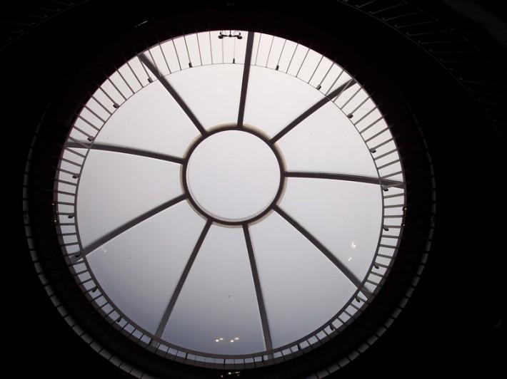 Стеклянная крыша — фото 29