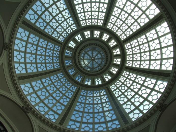 Стеклянная крыша — фото 32