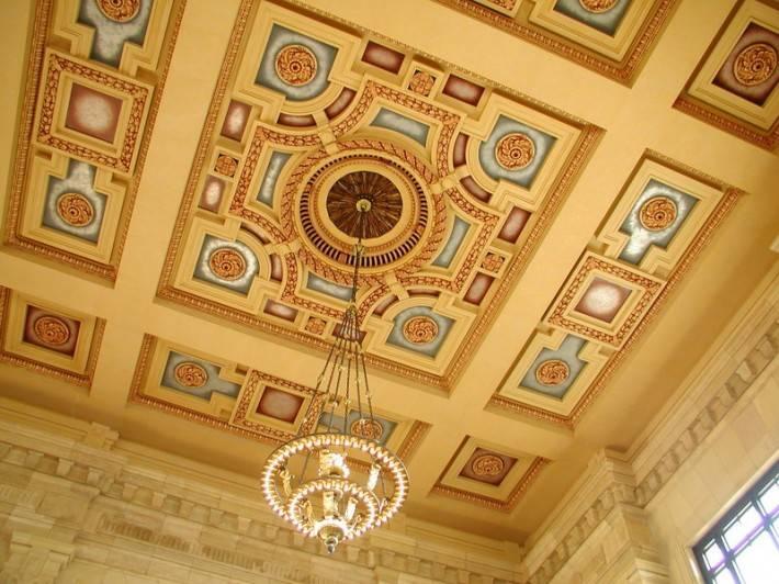 Роспись потолка — фото 153