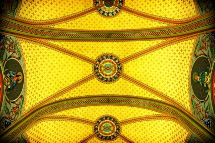 Роспись потолка — фото 155