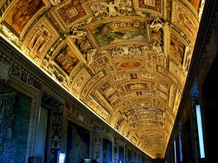Галерея географических карт в Ватикане (фото 16)