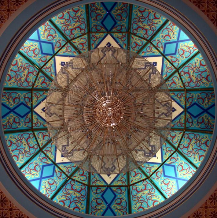 Витражный потолок — фото 53