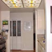 Потолок  со встроенным витражом — фото 3