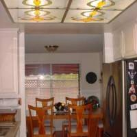 Потолок  со встроенным витражом — фото 4