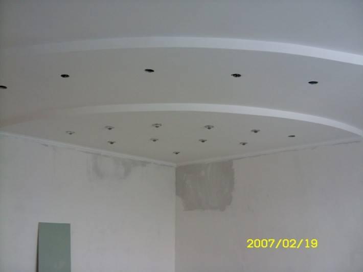 Потолок из гипрока, автор проекта Светлана Боркова — фото 2