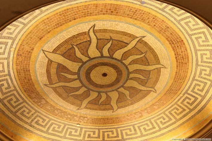 Мозаичный потолок — фото 3