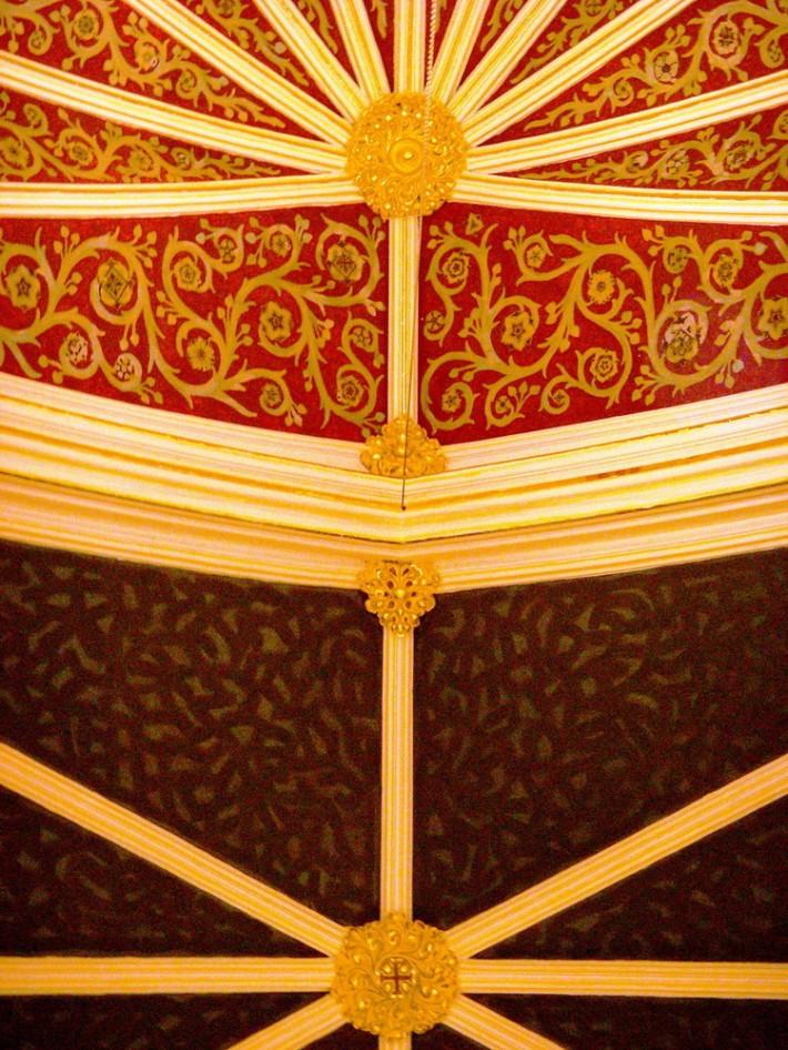 Роспись потолка — фото 304