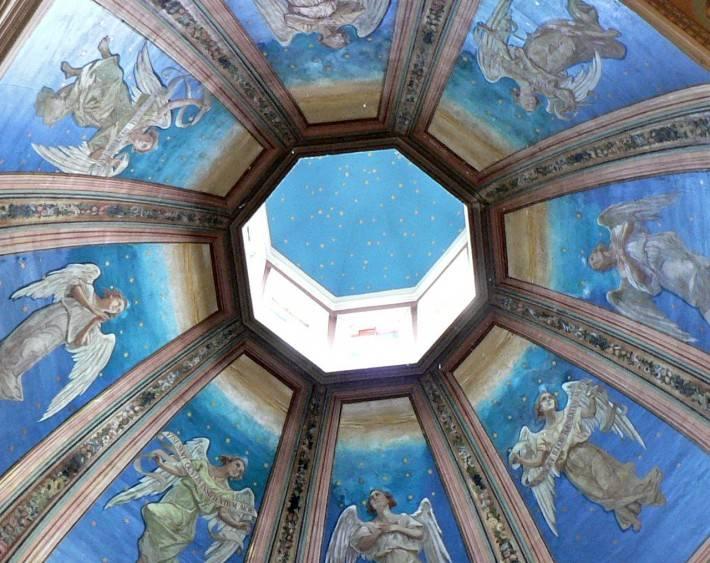 Роспись потолка — фото 147