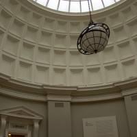 Кессонный потолок со стеклянным куполом