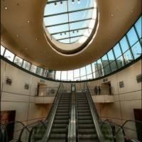 Совмещение потолка и стеклянной крыши