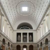 Интерьер церкви Богоматери в Копенгагене