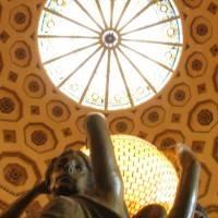 Витражный потолок — фото 46