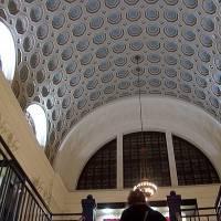 Лакунарный потолок нефа