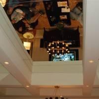 Кессонный потолок с зеркалами