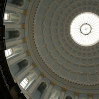 Потолок ротонды Национального Музея Леприконов в Дублине (фото 2)