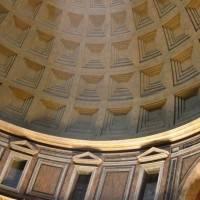 Кирпично-бетонная ротонда Пантеона с кессонированным куполом (фото 2)