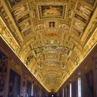 Галерея географических карт в Ватикане (фото 23)