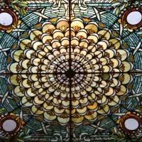 Витражный потолок — фото 44