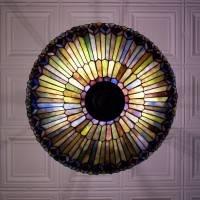 Потолок из декоративных панелей — фото 6