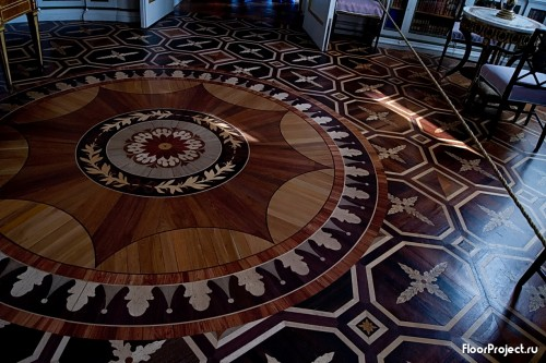 The Pavlovsk Palace floor designs – photo 13