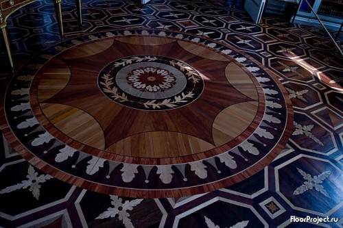 The Pavlovsk Palace floor designs – photo 12