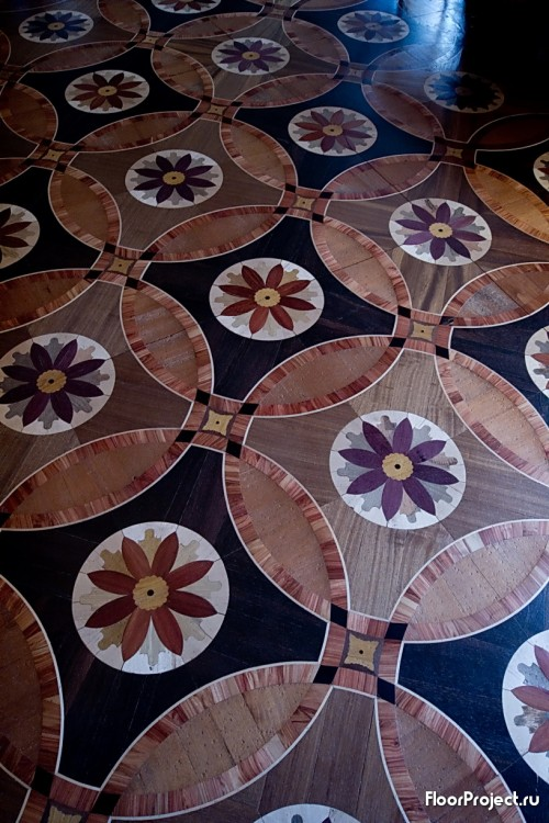The Pavlovsk Palace floor designs – photo 4