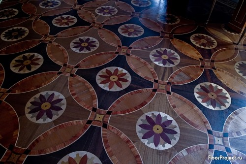 The Pavlovsk Palace floor designs – photo 3