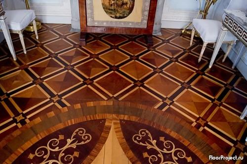 The Pavlovsk Palace floor designs – photo 1