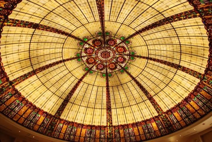 Витражный потолок — фото 40