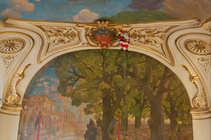 Роспись потолка — фото 324