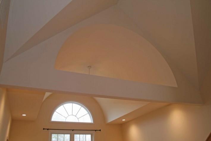 Потолок из гипсокартона — фото 40