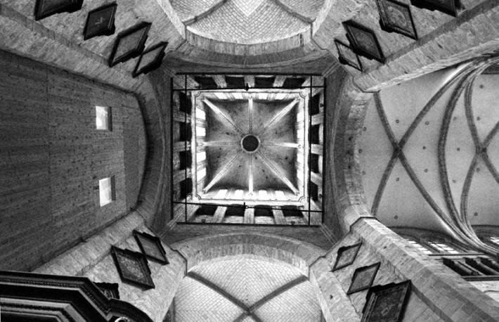 Потолок церкви Святого Николая в Генте