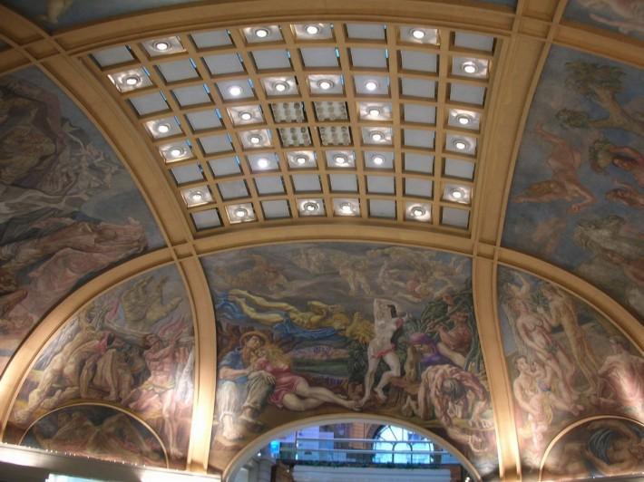 Роспись потолка — фото 373
