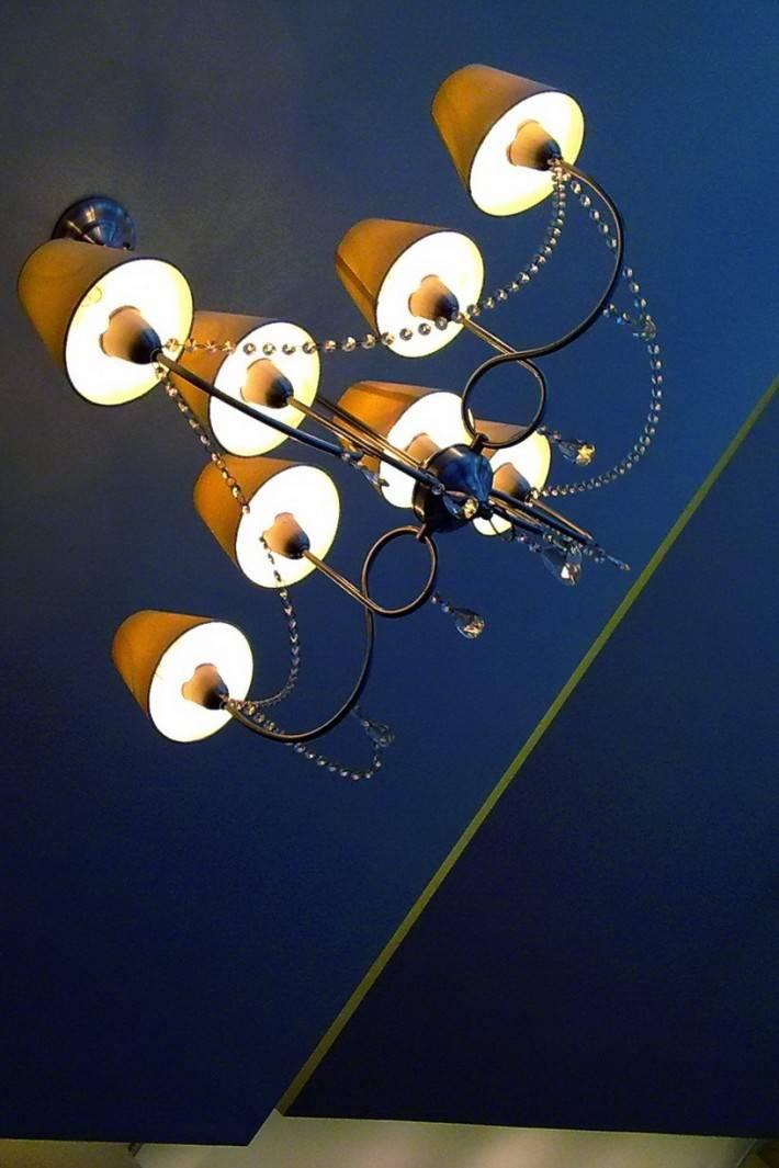Потолок из гипсокартона — фото 42