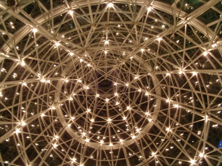 Металлический потолок — фото 12