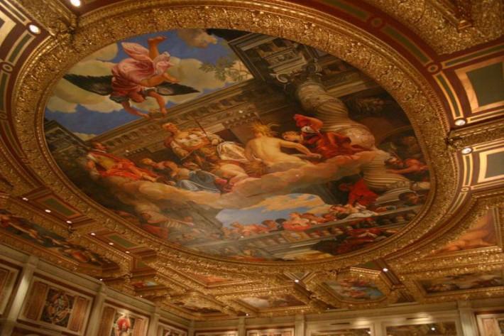 Роспись потолка — фото 325