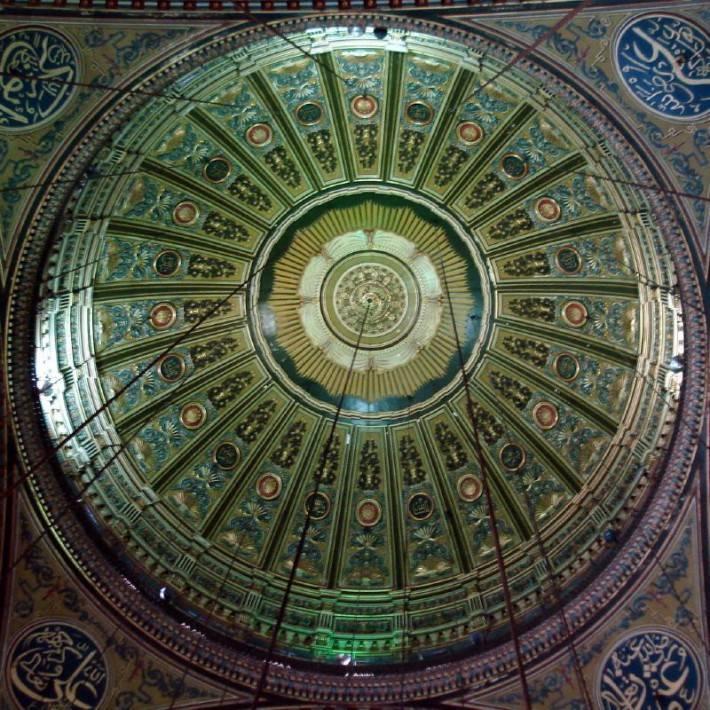 Потолок мечети Али Мухаммеда в Каире (фото 3)