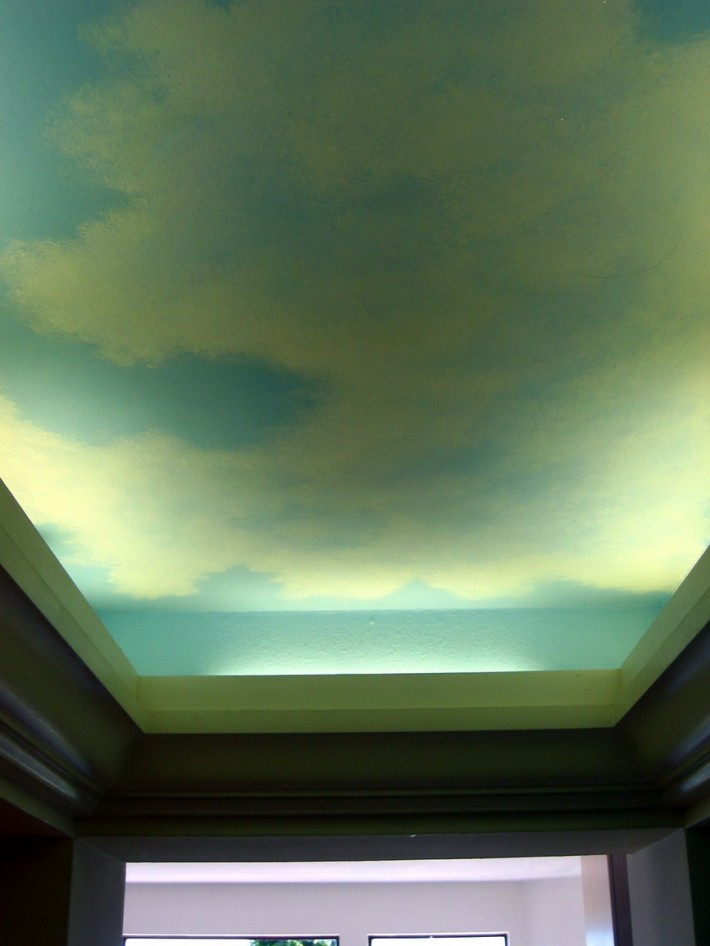 Роспись потолка — фото 18