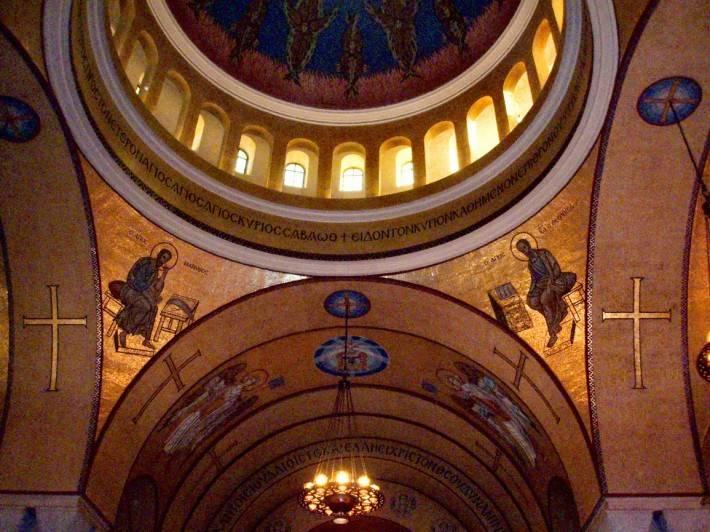 Мозаика в церкви Святой Софии в Вашингтоне