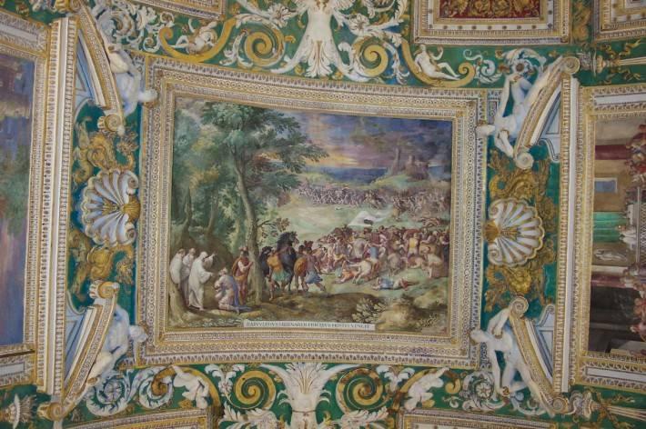 Галерея географических карт в Ватикане (фото 15)