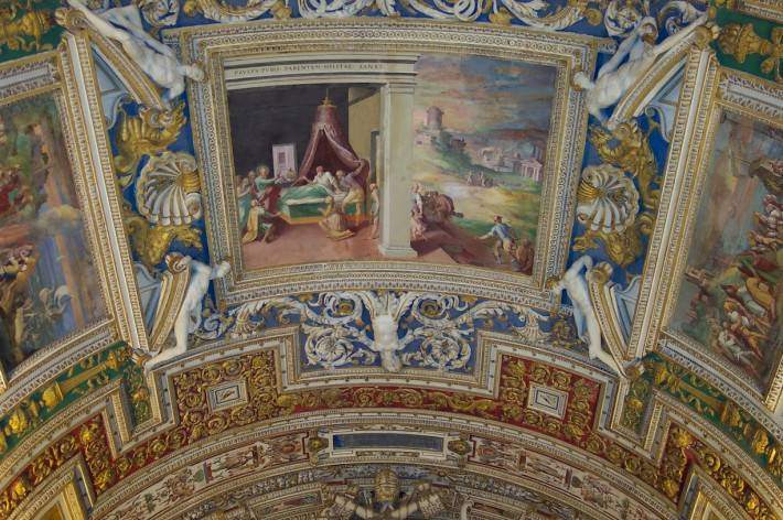 Галерея географических карт в Ватикане (фото 24)