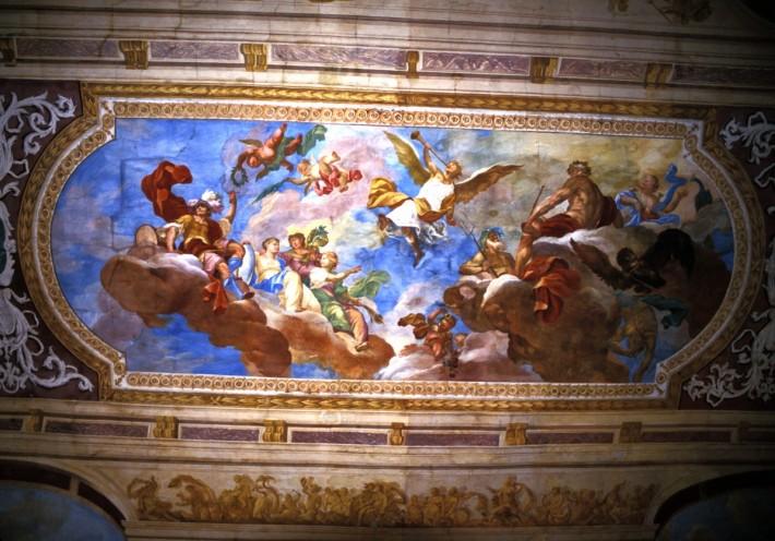 Роспись потолка — фото 121