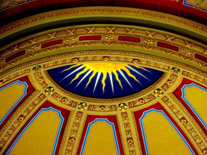 Роспись потолка — фото 271